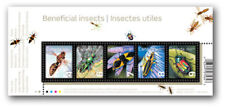 "Canada - ""BEES ~ BENEFICIAL INSECTS"" MNH MS 2010 !"