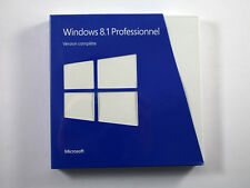 Microsoft Windows 8.1 Professional - 32 / 64 Bit - FRANÇAIS - BOX - RETAIL - NOU
