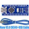 USB Nano V3.0 CH340 Chip Board 5V 16M Micro Controller Board for Arduino