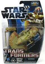 New Sealed Hasbro Transformers Star Wars Battle Droid To AAT 2012    #1