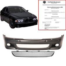 BMW E39 Stoßstange vorne für PDC+SRA alle Typen+Gitter ABS für M5 95-04 mit ABE