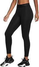 Nike Pro Therma Womens Leggings Black Multi Size Casual Sportswear Gym Yoga