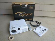 OPTIMA HD 70 DLP Multimedia Projector w/ Remote, Manual & Orig Box - NEW Bulb