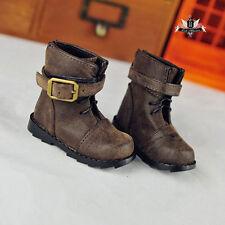 1/3 BJD Shoes Supper Dollfie Brown Boots DREAM MID DOD LUTS SOOM AOD DZ Dollmore