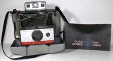 1960s Polaroid 220 Automatic Model Folding Bellows Instant Film Land Camera