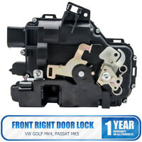 Front Right Driver Side Central Door Lock For VW GOLF Mk4 PASSAT Mk5 97>06 8 Pin