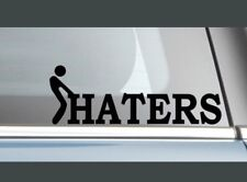 HATERS Vinyl Decal Sticker Window Wall Bumper Car Racing JDM