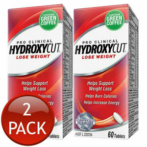 Hydroxy Cut Pro Clinical Weight Lost Loss Energy 120 Tablets Helps Burn Calories