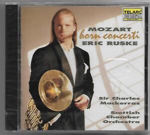 MOZART Horn Concerti Eric Ruske CD 1994 Telarc NEU/OVP/NEW Sir Charles Mackerras