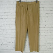 Gianfranco Ferre Pants Womens 40 Gold Tone Silk Blend