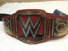 WWE Universal Championship Wrestling Belt Adult Size Metal Plates Real Deal WCW
