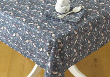 William Morris Strawberry Thief  132 x 229 cm Cotton Floral Tablecloth