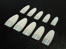 200 Tips Oval Nature, French Tips, Nail Tips, Artificial Nails , Nailtips