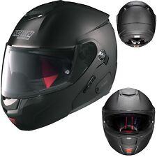 NOLAN Klapphelm N90.2 SPECIAL N-COM schwarz matt Helm mit Sonnenblende L 60/61