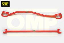 OMP FRONT & REAR STRUT BRACE SUZUKI SWIFT 1.3 GTi 16v