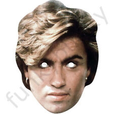 George Michael 1980's Celebrity Singer Card Mask - All Our Masks Are Pre-Cut!