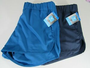"""Columbia Womens Omi-Freeze Chill River 4"""" Shorts Nwt"""