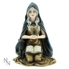 NEMESIS NOW LARGE *MISTY* WITCH & CRYSTAL BALL & BOOK FIGURE 2017 STOCK NEW  BOX
