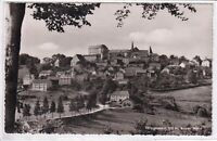 Ansichtskarte Fürstenstein - Blick zum Schloss und zur Pfarrkirche Fürstenstein