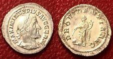 New ListingAu - Ms Roman Empire Silver Denarius Maximinus Trax Ar Denarius Providentia