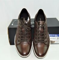 Kenneth Cole New York Perforated Sneakers - Brown New!