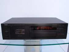 YAMAHA kx-490 cassette, play Trim, AUTO TAPE Tuning, 12 mesi di garanzia *