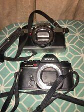 1 Lot Of Minolta XG-1 35mm & Konica AutoreflexTC  SLR Film Camera Body