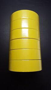 "1 Sleeve/6 Rolls - 3M™ - Yellow Masking Tape - 1 1/2"""
