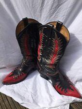 Vintage TONY LAMA Bottes Cowboy