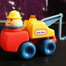 Little Tikes Toddle Tots 80's Tow Truck Wrecker Chunky People Figure worker