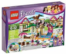 Lego Friends 41008 HEARTLAKE CITY POOL Swimming Isabella Andrea NISB Xmas Gift