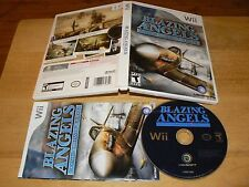 Blazing Angels Squadrons Of WWII game for Nintendo Wii Ubisoft 2007 U.S. NTSC