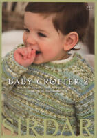 Baby Crofter #2 Knitting Patterns Book Fair Isle DK Children 0-7 yrs Sirdar 381