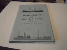 Steam Coasters & Short Sea Traders by Waine & Fenton, hc/dj, 3rd Edition/Boats