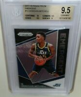Donovan Mitchell 2017-18 Panini Prizm Emergent #13 RC Rookie BGS 9.5 super hot