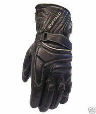 Leather Motorcycle Motorbike Scooter Gloves Size 7