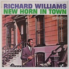 RICHARD WILLIAMS: New Horn in Town CANDID Barnaby Jazz LP VG++