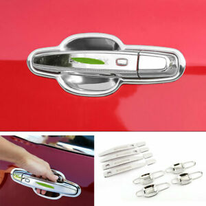 Fit For Chevrolet Equinox 2018-2020 Chrome Steel Door Bowl Cup Handle Cover Trim