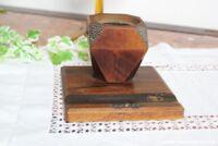 Encrier Vintage en Bois - Vintage Wooden Inkwell - Vieux Porte-Stylo