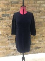 & Other Stories Blue Knitted Dress S (UK 10)