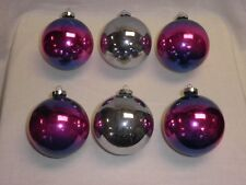 Antique Vintage Christmas Ornaments 4 made in the U.S.A. 2 Shiny Brites