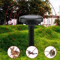 Repellente dissuasore scaccia serpenti ultrasuoni solare 650+sq rettili lucertol