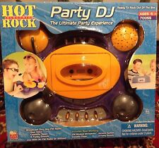 Nib KidzToyZ Hot Rock Dj The Ultimate Party Experience 2001 New Old Stock