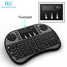 Genuine Rii K08 Mini Keyboard With Touchpad Mouse Backlit for Smart TV