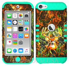 For Apple iPod Touch iTouch 5   6 - KoolKase Hybrid Cover Case - Camo Mossy Deer