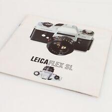 * LeicaFlex SL Literature