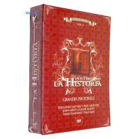 Grandes Pintores DVD Video Vol.4 Descubriendo la Historia 3 Disc Spanish Audio
