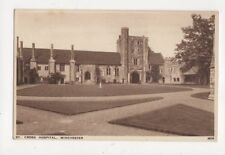 St Cross Hospital Winchester Vintage Postcard 656a