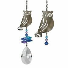 Crystal  Fantasy Owl Suncatcher NEW