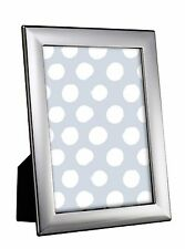 "STERLING SILVER PHOTO FRAME 8 X 6"" PLAIN WOOD BACK"